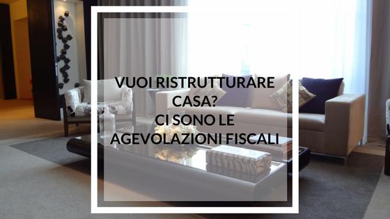 Vuoi ristrutturare casa ci sono le agevolazioni fiscali preventivi ristrutturazione - Agevolazioni fiscali per ristrutturazione bagno ...